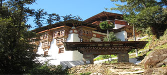 Tango Monastery in Bhutan